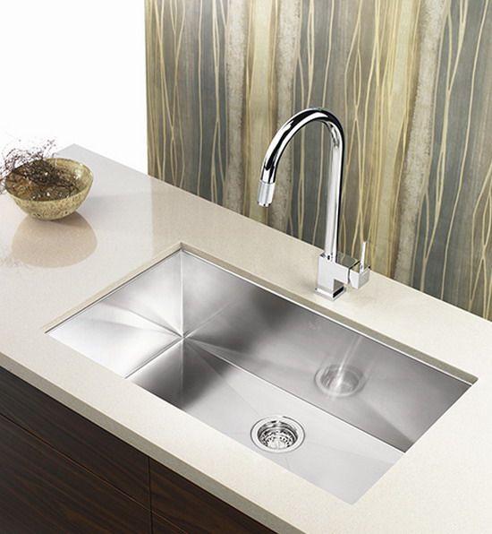 Modern Stainless Steel Kitchen Sinks Unit Enchanting Undermount