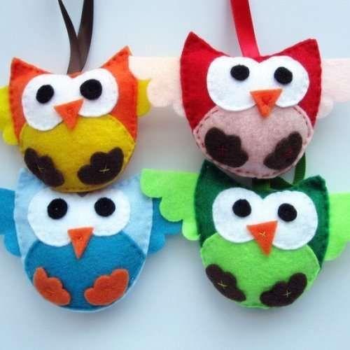felt animal patterns  Bing Images  ideas  Pinterest  Felt owls