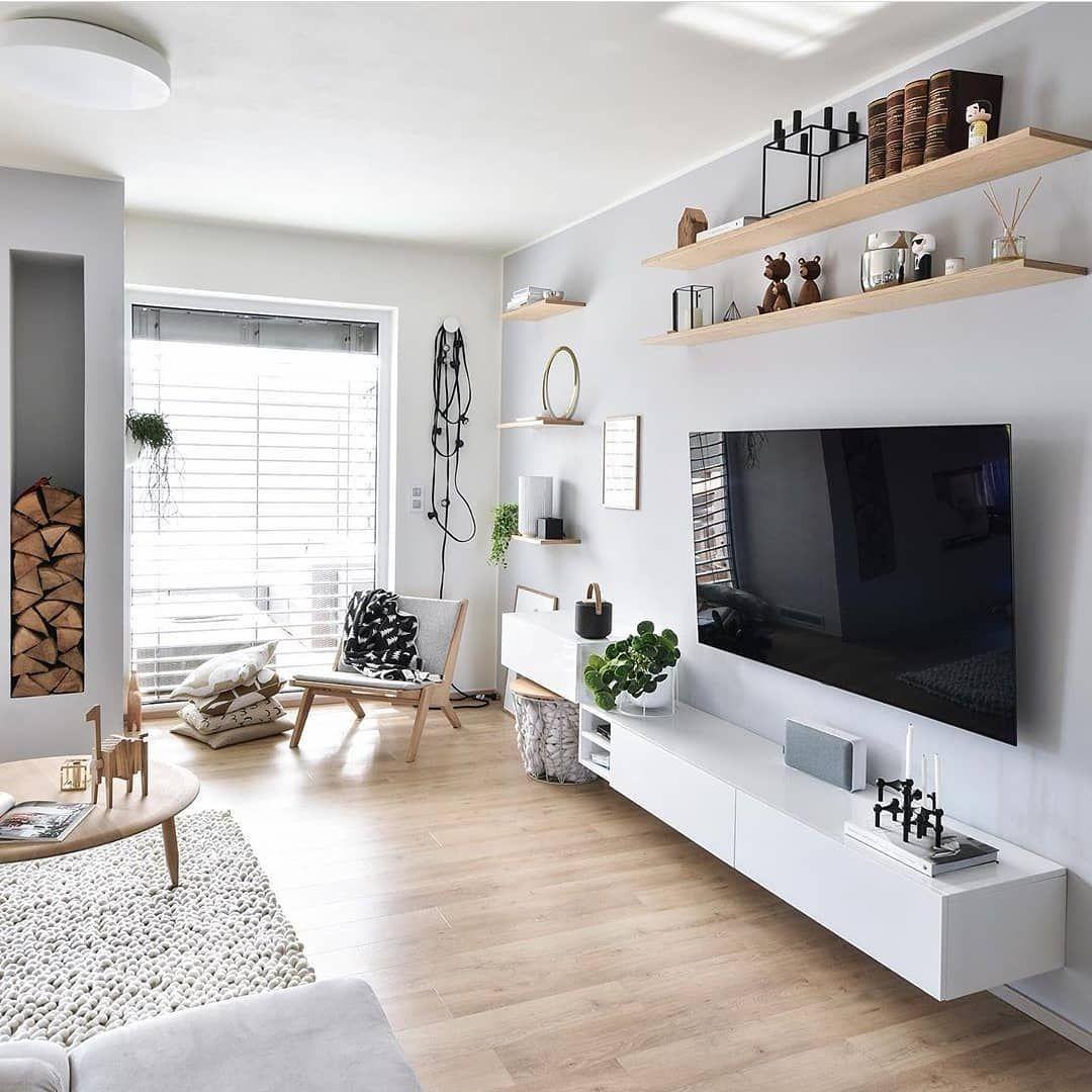 😍Me encanta😍 Ideas Esteticas de decoración salón comedor nórdico