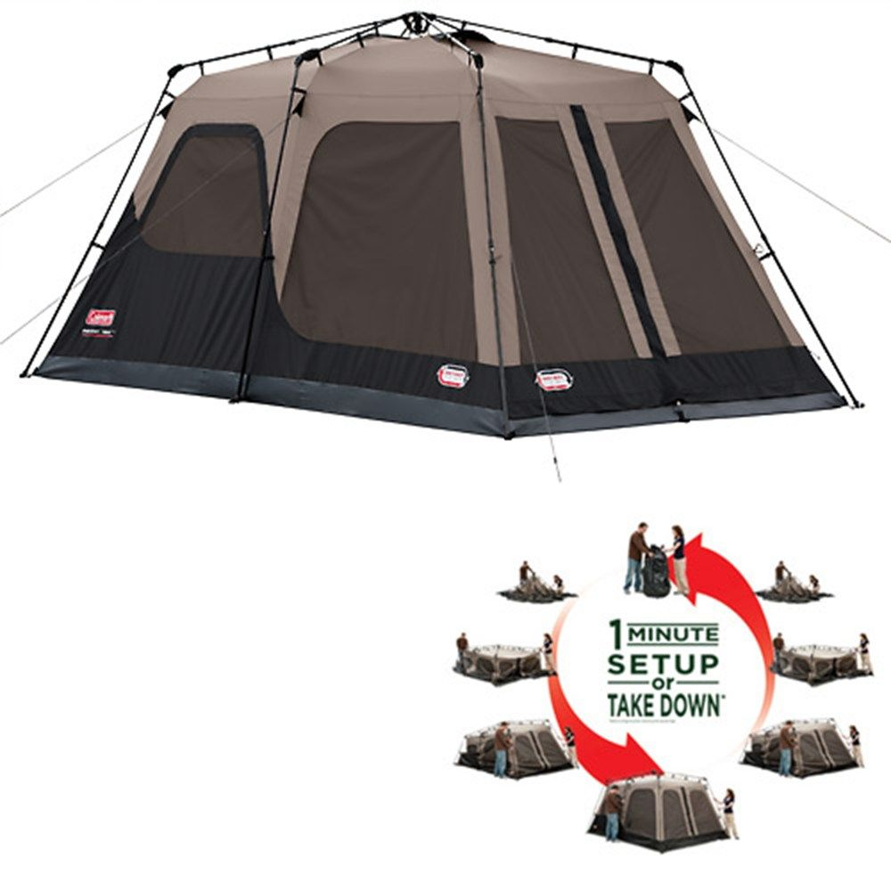Coleman - Coleman- Instant Tent Pop Up Tents - Instant Tent 8 Instant Tent means just one minute set up or take down based on average set up time Our ...  sc 1 st  Pinterest & Coleman - Coleman- Instant Tent 8- Pop Up Tents - Instant Tent 8 ...