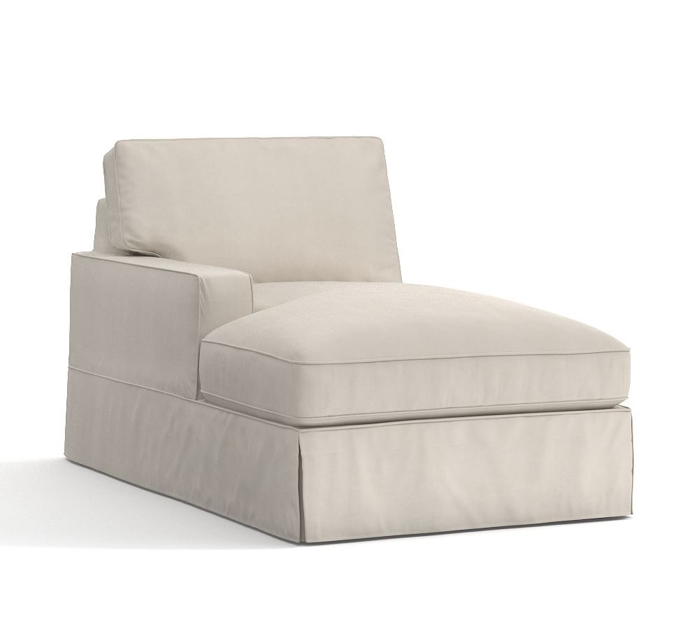 Pb Comfort Left Arm Chair Slipcover Sectional Slipcovers