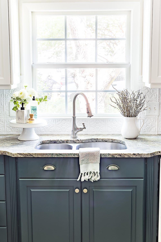 Green kitchen cabinet update home design pinterest kitchen