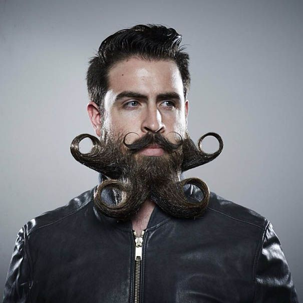 Mr Incredibeard Guy With A Thousand Beards Becomes Internet - Mr incredibeard really coolest beard ever seen