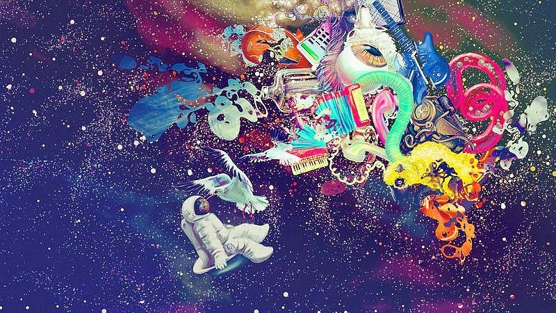 Psychedelic Space Trippy Wallpaper Psychedelic Artwork