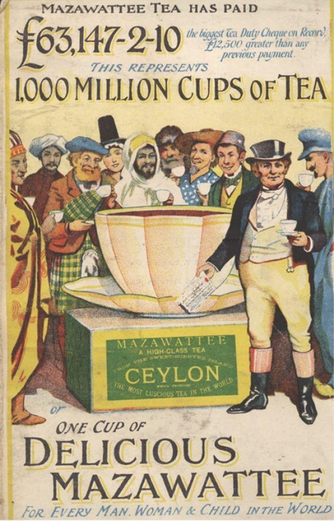 Mazawattee, Tea Ceylon Empire, UK (1890) | t | Pinterest ...