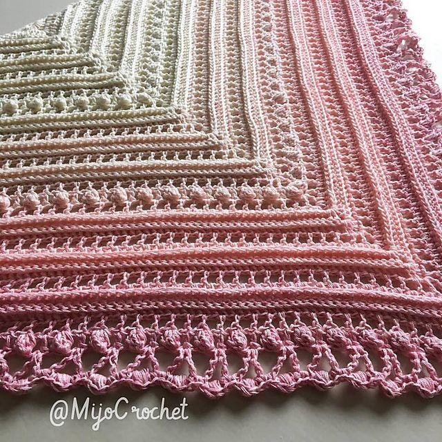 Secret Paths Pattern By Johanna Lindahl Crochet Pinterest Impressive Crochet Shawl Pattern