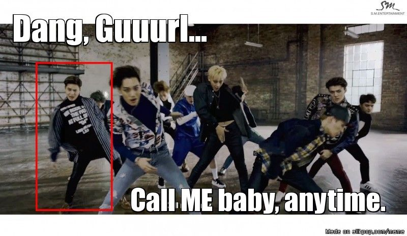 Suho be like... and then there's Tao | allkpop Meme Center ...