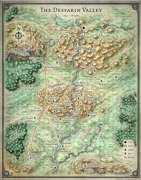 Fantasy Cartography by Mike Schley at Coroflot Cartography - new random world map generator free