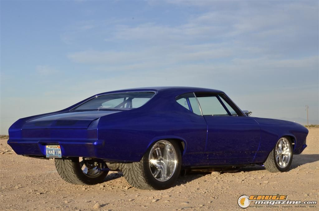1969 Chevelle Narrowed And Molded Front And Back Bumpers