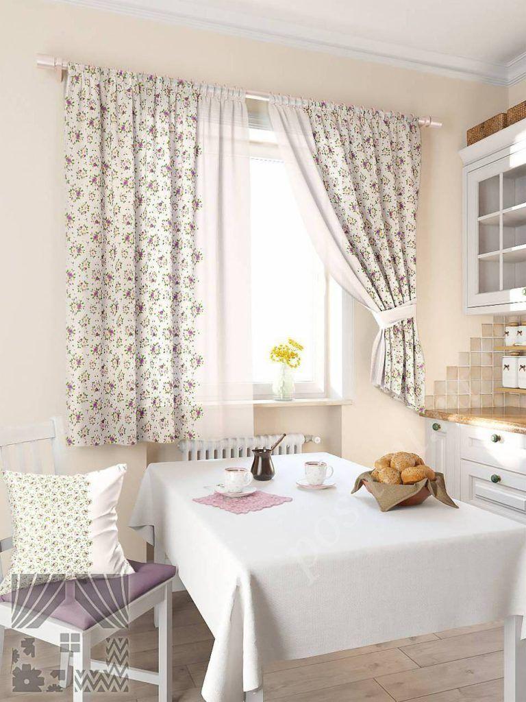 шторы на кухню в стиле прованс картинки мурку