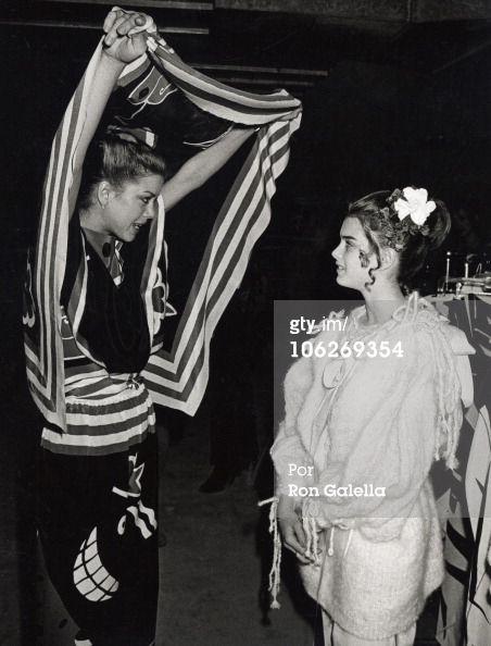 Fotografia de notícias : guest and Brooke Shields during Micheale...