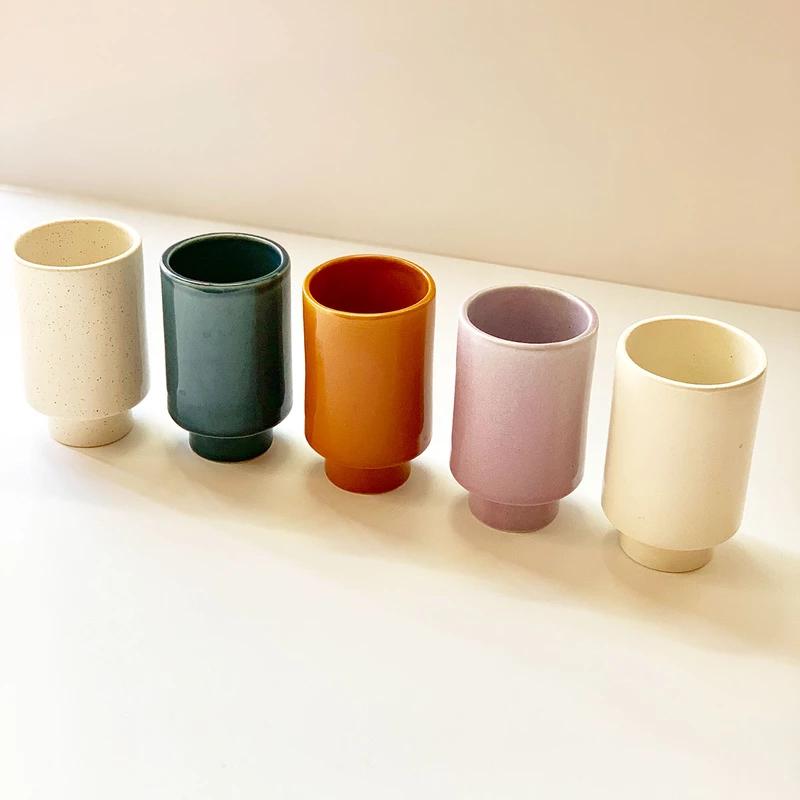 Kaya Ceramic Cups by Justina Blakeney