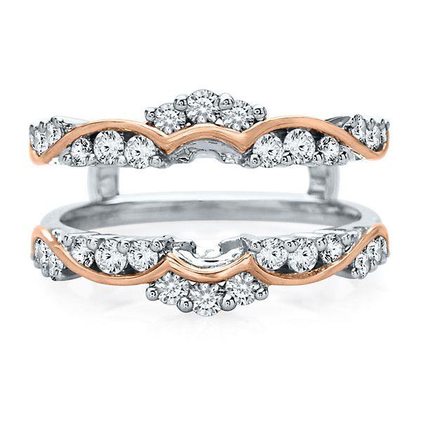 3 4 Ct Tw Diamond Ring Enhancer In 14k White Rose Gold In 2018