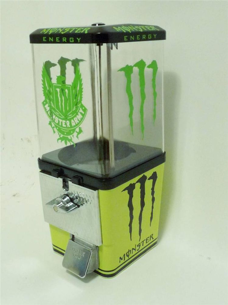 vintage gumball machine energy drink old candy machine vending ...