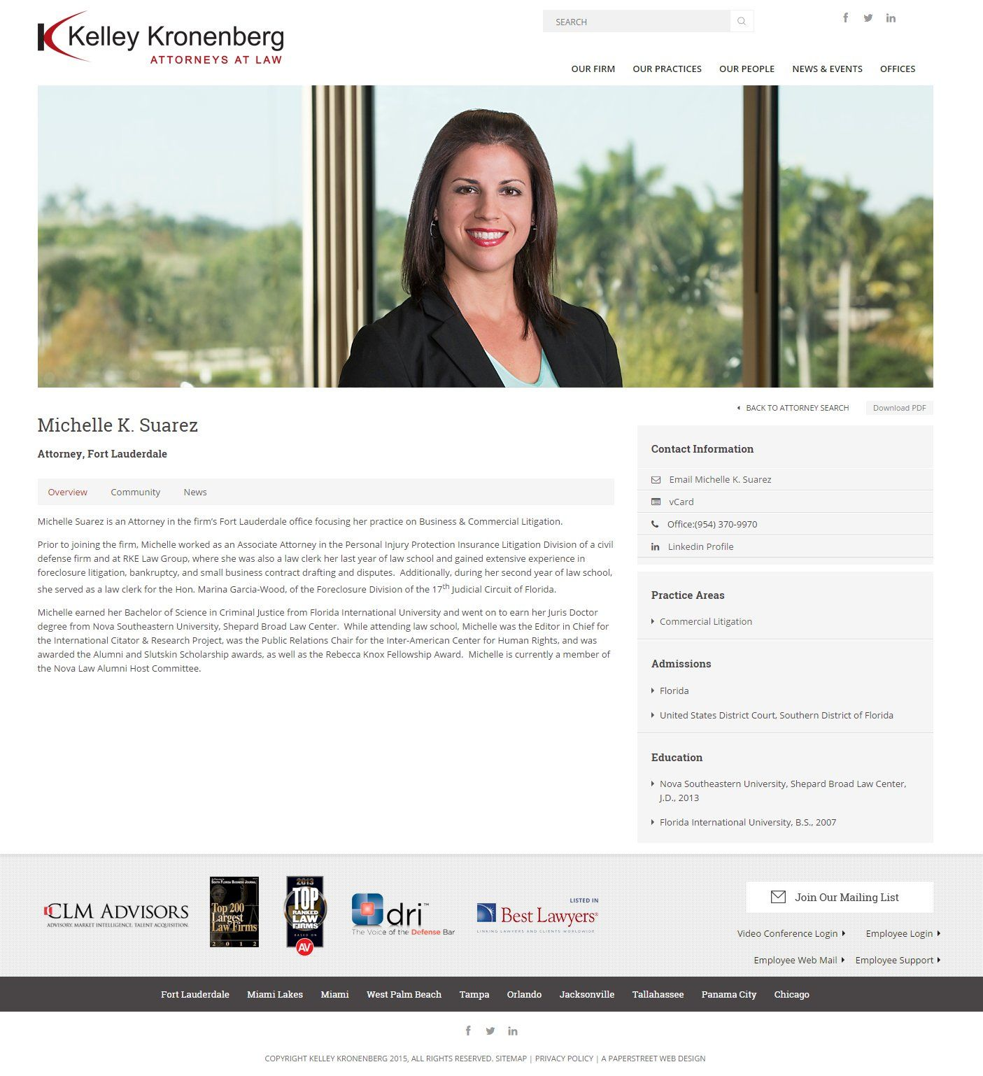 Michelle Suarez Attorney At Law Law Firm Attorneys