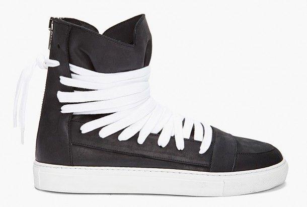 Kris Van Assche Laced Zip Sneakers
