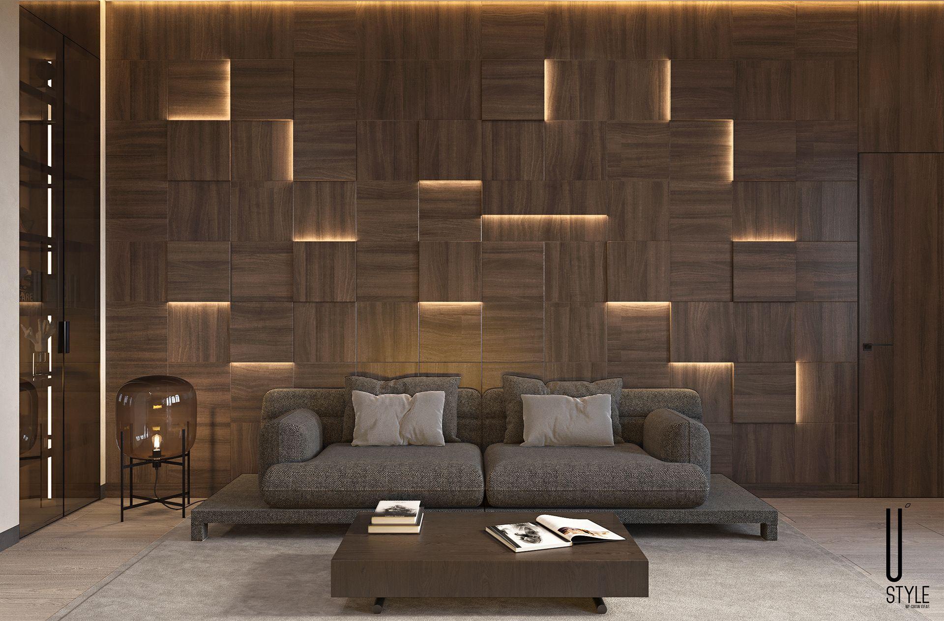 Ui049 On Behance Luxury Living Room Design Wall Cladding Designs Luxury Living Room