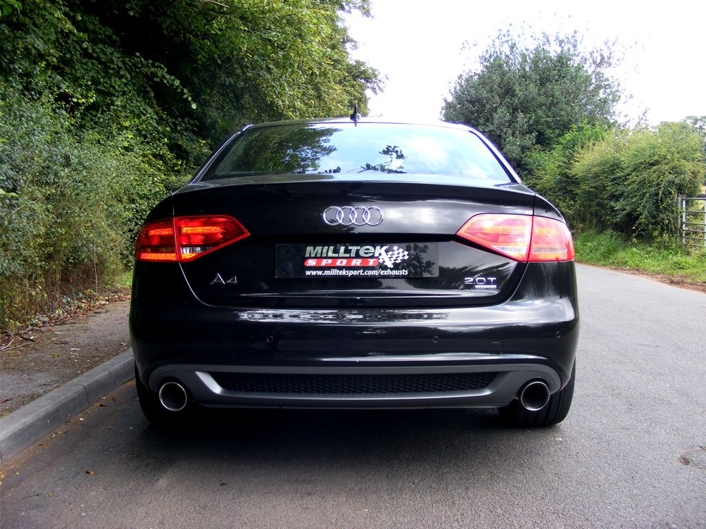 Audi A4 2 0 Tfsi S Line B8 2wd And Quattro Manual Only Saloon Avant Milltek Exhaust