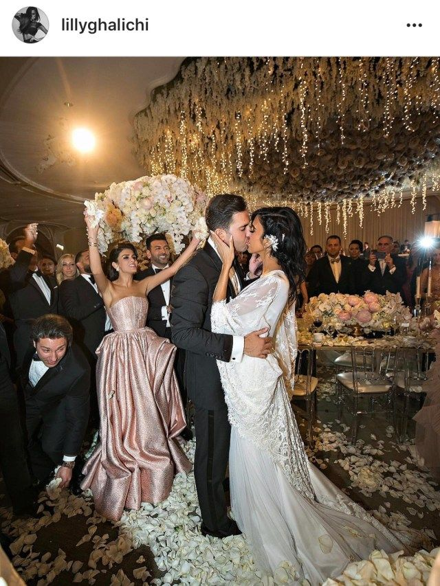 Your Instaglam Highlights This Week Lilly Ghalichi Wedding