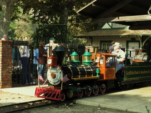 Travel Town Train Rides And Pony At Griffith Park