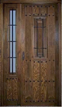 Puerta exterior rustica dr 243 416 puertas for Puertas de calle rusticas