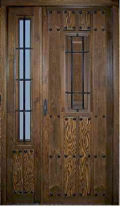 Puerta exterior rustica dr 243 416 puertas pinterest puertas de calle rejas y - Puertas de madera exterior rusticas ...