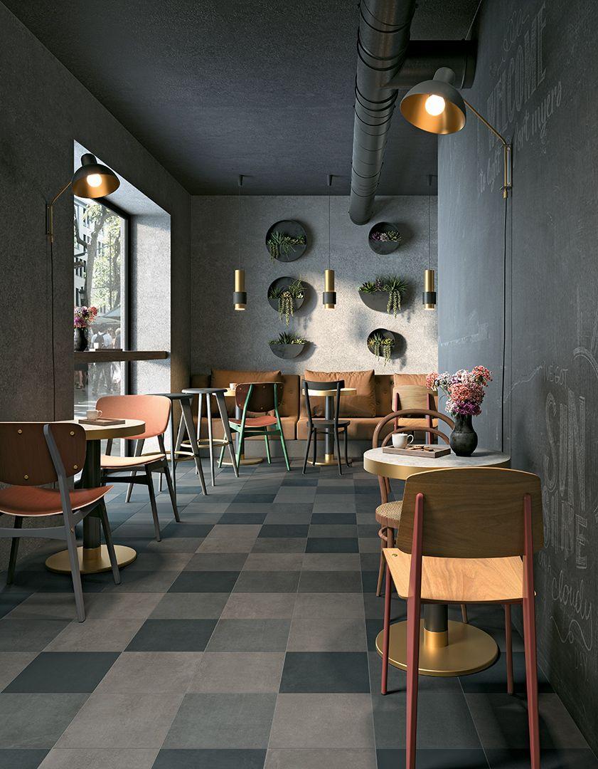 TYPE GC 04 Vídd Concrete look tile, Eco friendly tile