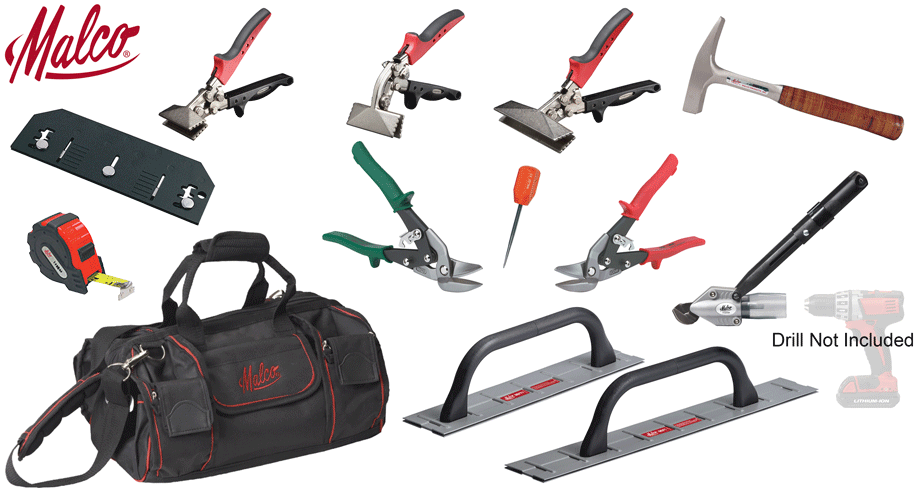 Tool Set Malco Metal Roofer Journeyman Set in 2020