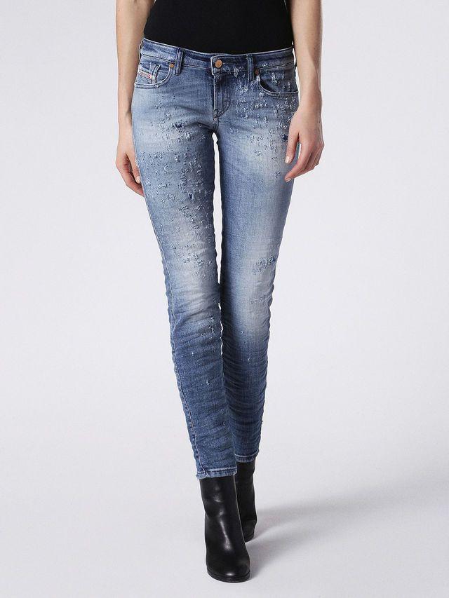 Diesel Jeans skinny GRACEY 8PSci4