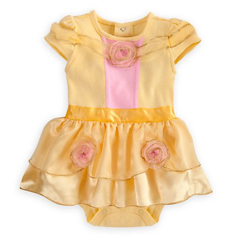 c7f7d8fdfb09 Belle Cuddly Costume Bodysuit for Baby | Bodysuits | Disney Store ...