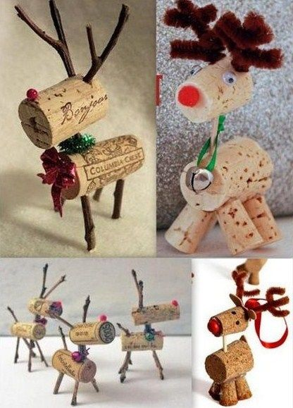 Faire des personnages de no l avec de la r cup events ideas pinterest c - Decor de noel a faire ...