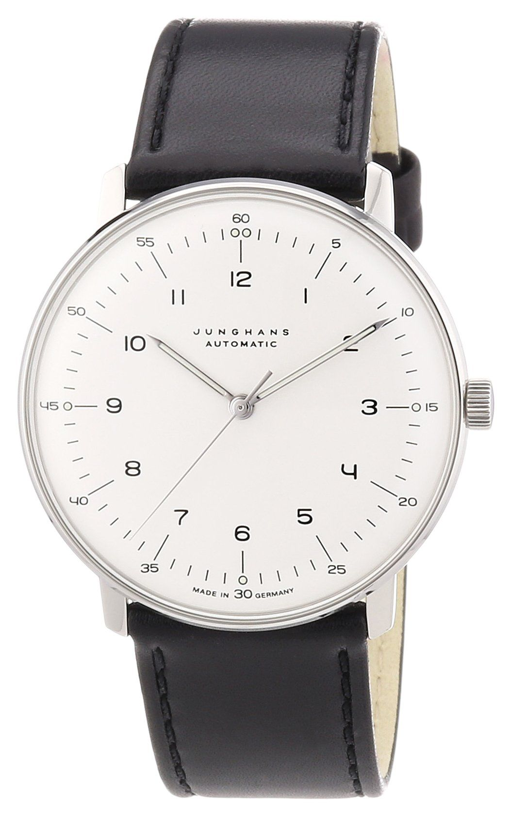 junghans max bill automatic analog made in germany 027 watches time. Black Bedroom Furniture Sets. Home Design Ideas
