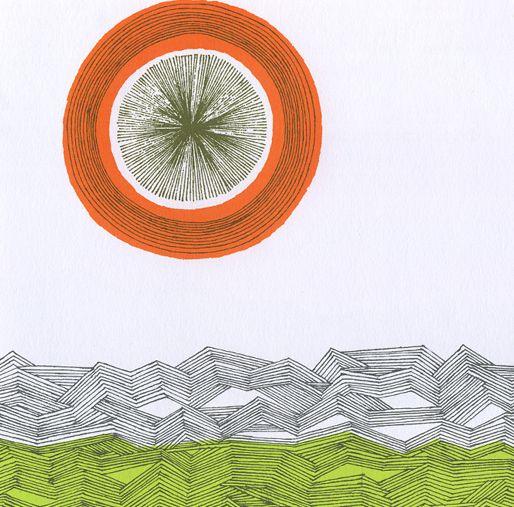 Aoi Huber-Kono---illustration for childrens book--the big fish