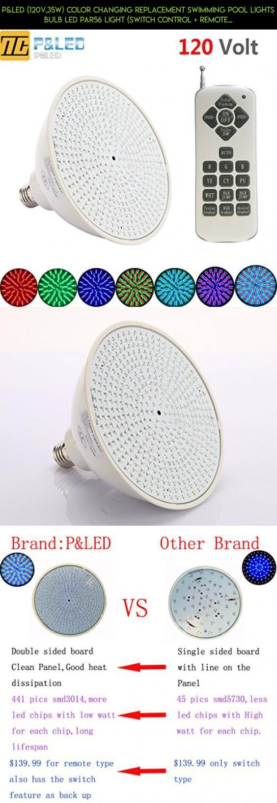 Pled 120v35w color changing replacement swimming pool lights pled 120v35w color changing replacement swimming pool lights bulb led par56 light arubaitofo Image collections