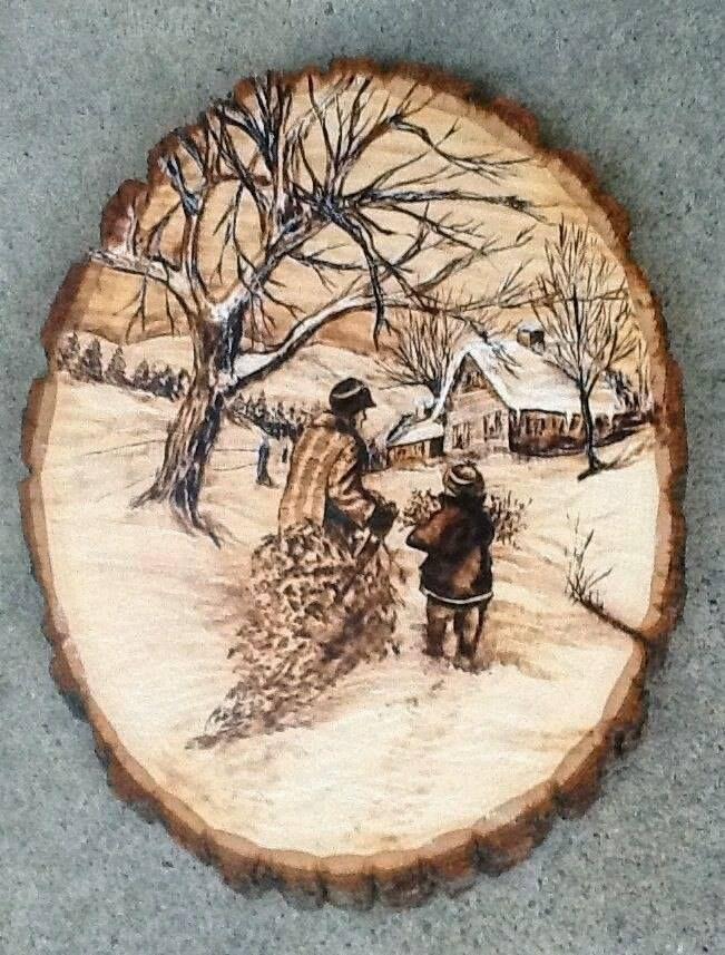 pingl par sheryl popowycz sur pyrography pinterest pyrogravure peintures sur bois et bois. Black Bedroom Furniture Sets. Home Design Ideas