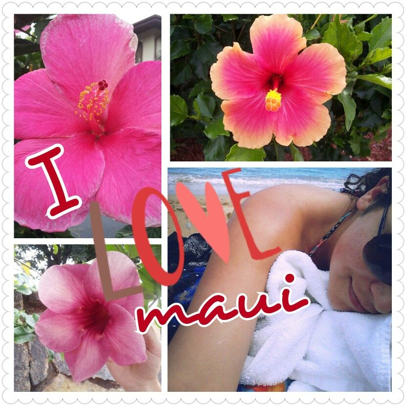 Soaking up the sun in Maui is good for the soul :-)