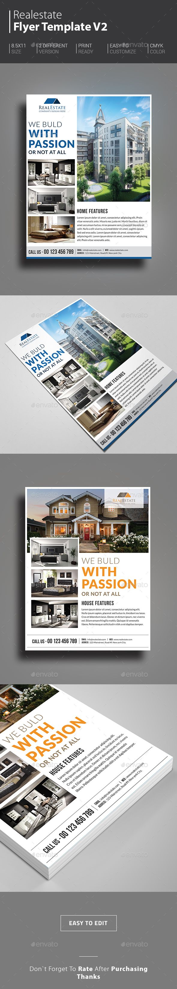Real Estate Flyer | Real estate flyers, Real estate and Marketing flyers
