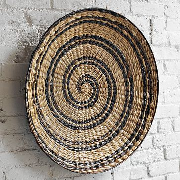 I love the Decorative Bowl Wall Art - Spiral on westelm.com | Wall ...