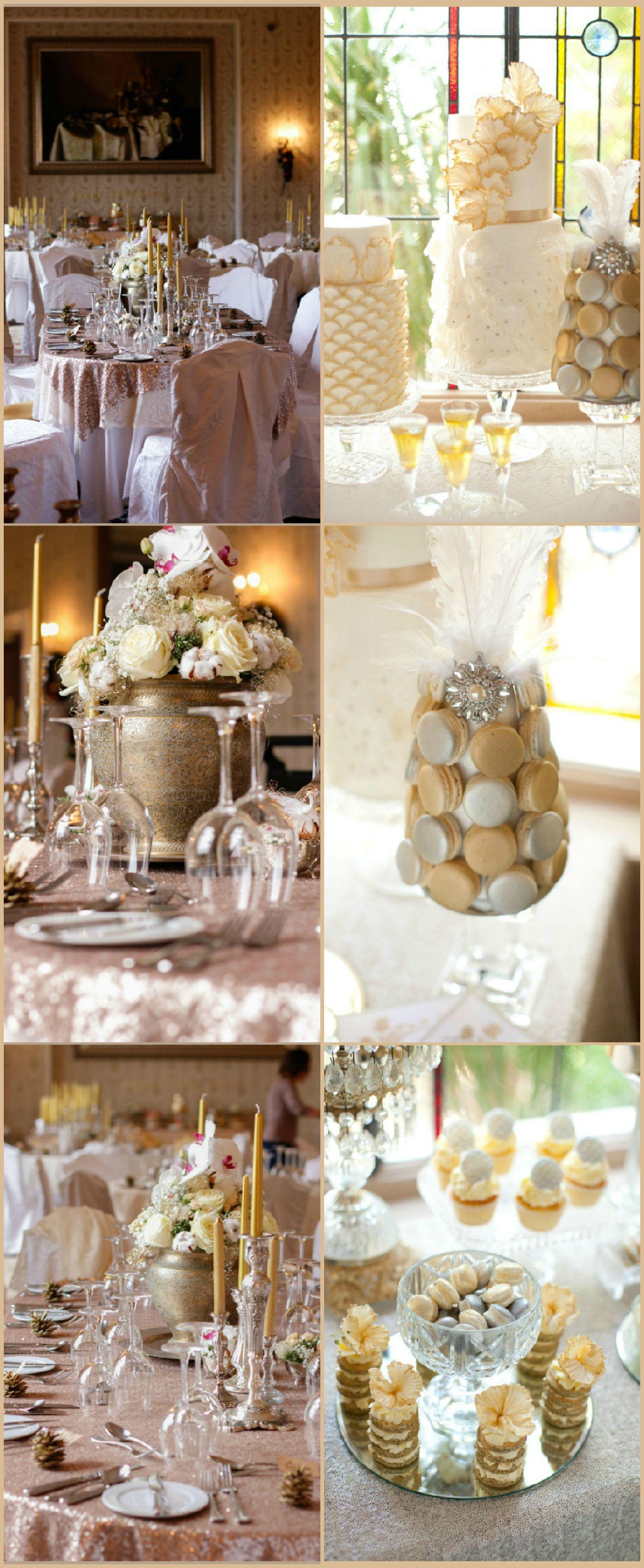 Wedding ● Tablescape & Reception Décor ● Golds