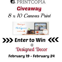 Printcopia Canvas Print and a Giveaway!