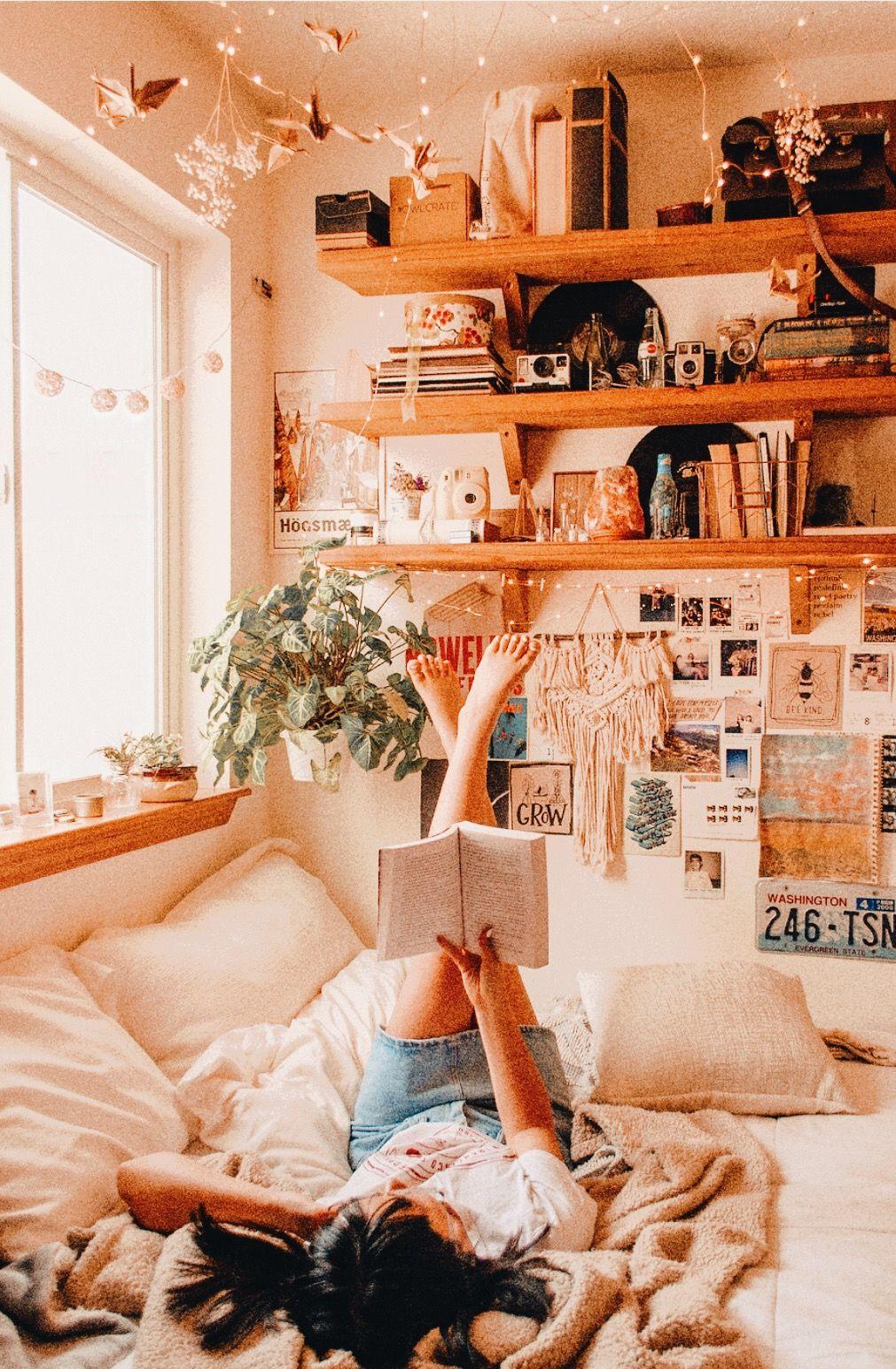Tumblr Aesthetic Vintage Minimalist Boho Bedroom Trendecors