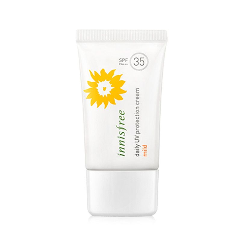 Innisfree Daily UV Protection Cream Mild SPF35 / PA++ 50ml - Online shopping for Innisfree Daily UV Protection Cream Mild. Wholesale welcomed. 28Mall only sells original brands items. Get up to US$28 HongBao shopping credit for new members www.28Mall.com/s/P37