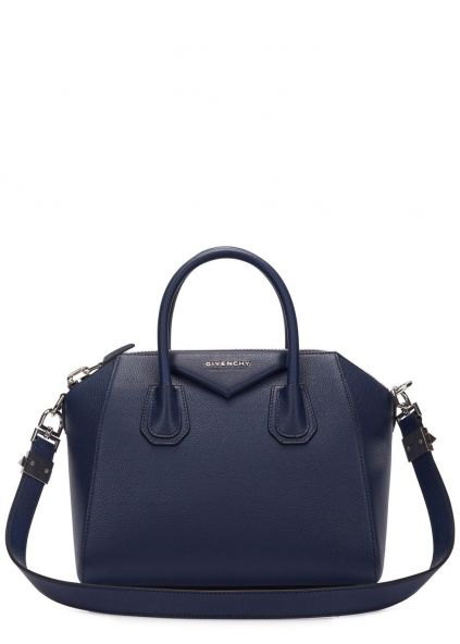 Antigona small navy leather tote   Wear - Accessories   Pinterest ... 478c6e595a