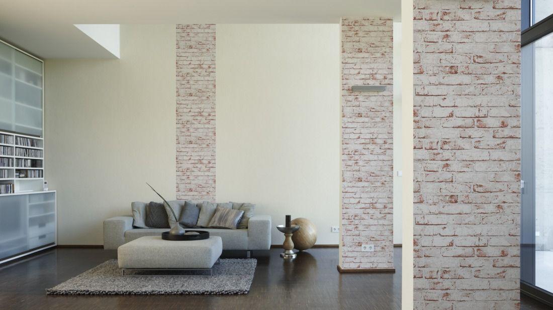 Livingwalls Designpanel 955701; simuliert auf der Wand Wohnung