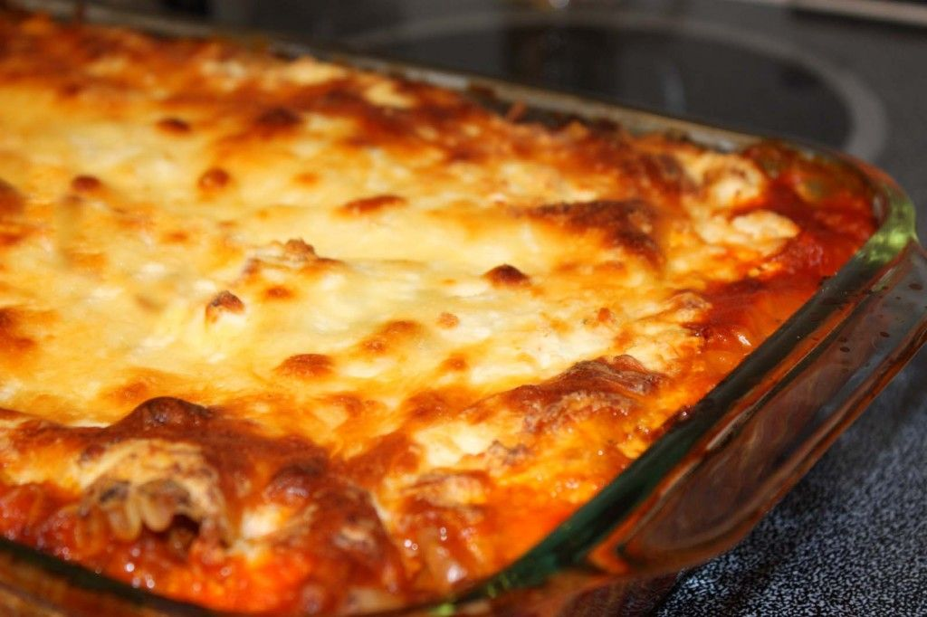 Baked Lasagna Photo By Sarah Franzen Instead Of Ground