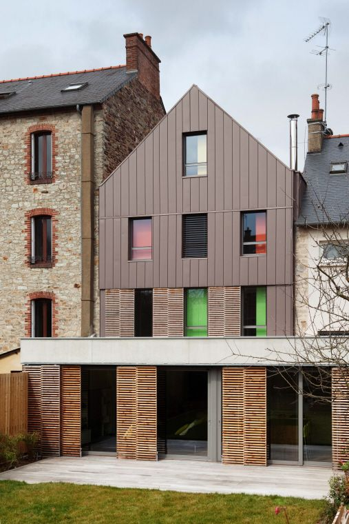 Maison individuelle, Rennes (France) by ACPA #architecture #france - renovation maison ancienne photos