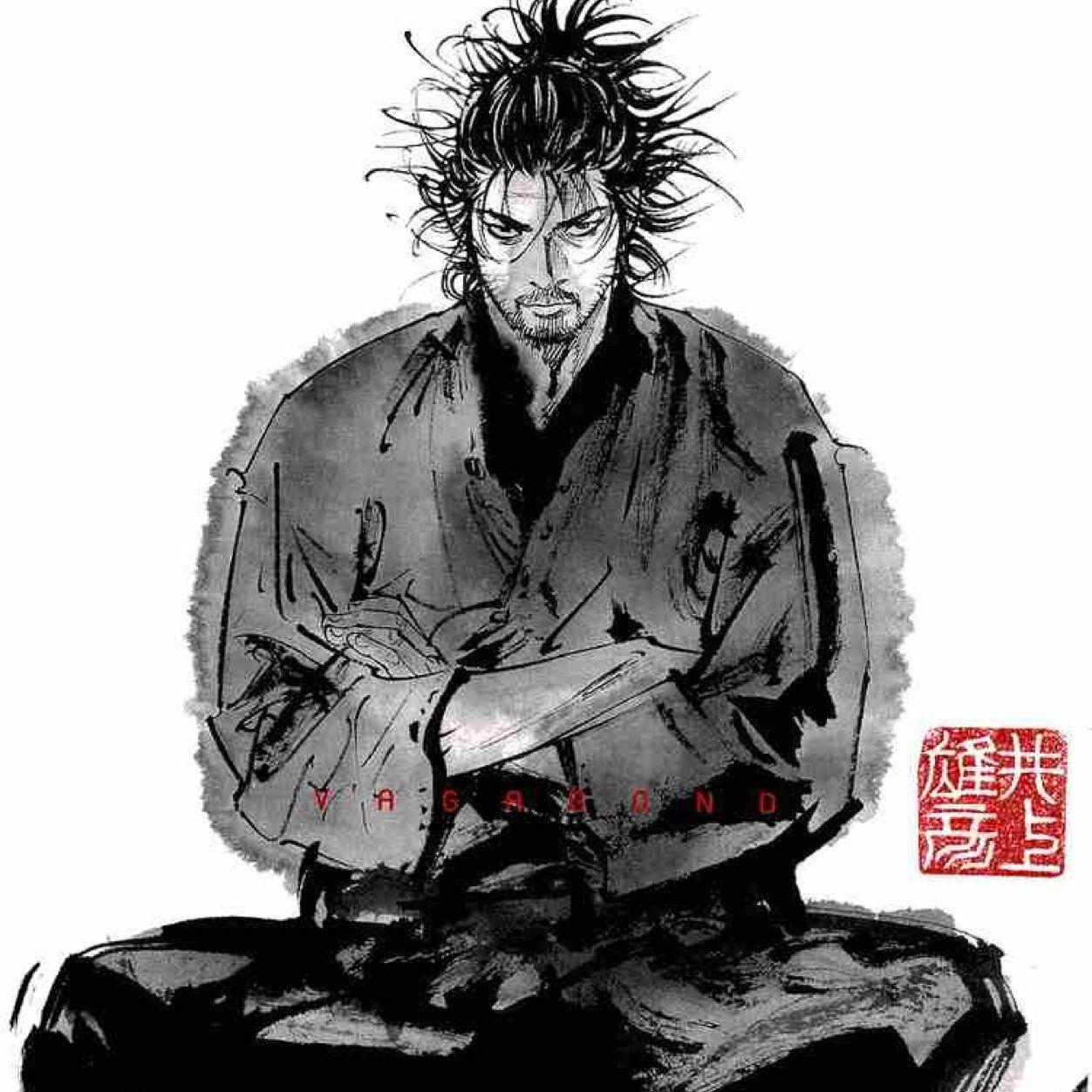 宮本武蔵 Musashi Miyamoto By Takehiko Inoue 空手 イラスト