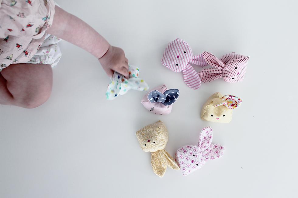 Riskaniner   kaninputtepose mønster og syvejledning /DIY