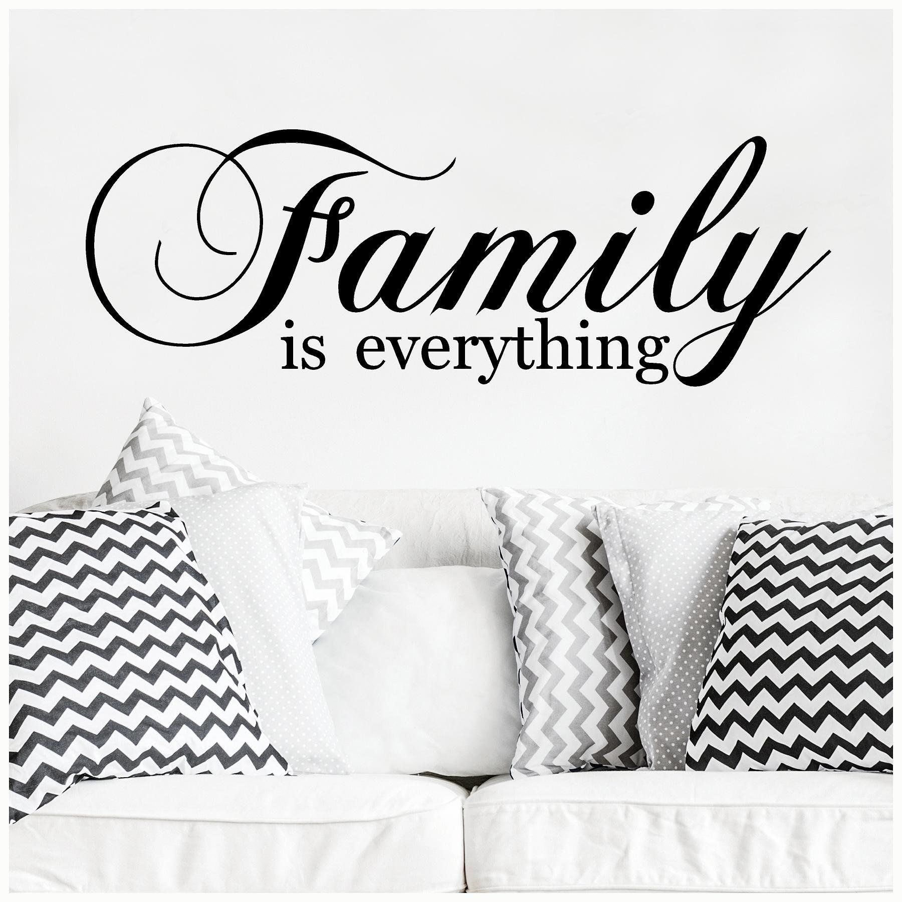 Family Is Everything Vinyl Lettering Art Decal Wall Sticker Etsy Vinyl Lettering Family Is Everything Wall Sticker