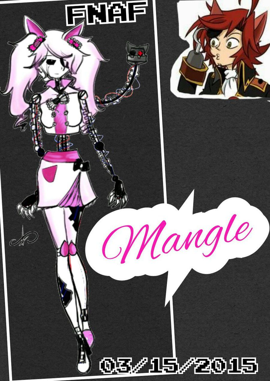 five nights at freddy s pichers mangle anime google search fnaf